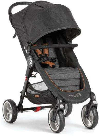 BABY JOGGER Kočík City Mini 4 Black/Grey