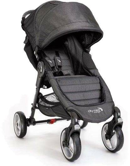 BABY JOGGER Kočárek City Mini 4 Charcoal