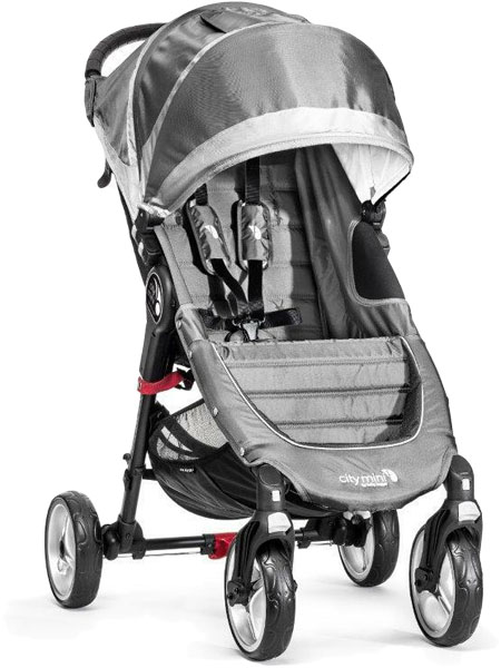 BABY JOGGER Kočík City Mini 4 Steel Grey