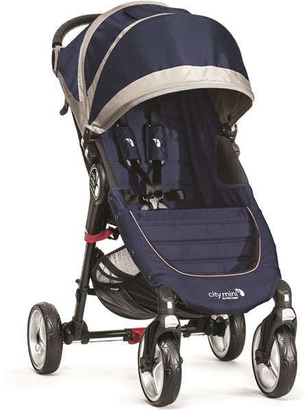 BABY JOGGER Kočík City Mini 4 Cobalt/Grey