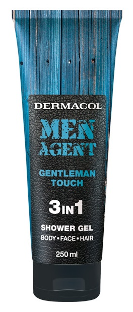 DERMACOL Men Agent Gentleman touch - sprchový gel (tuba) 250 ml