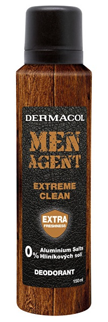DERMACOL Men Agent Deodorant Extreme clean 150 ml