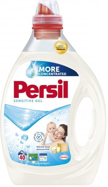 PERSIL Sensitive 2 l (40 dávek) – prací gel