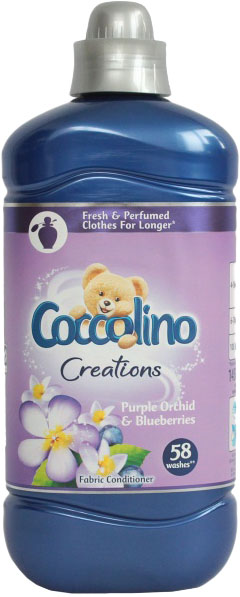 COCCOLINO Creations Purple Orchid 145 l (58 praní) - aviváž