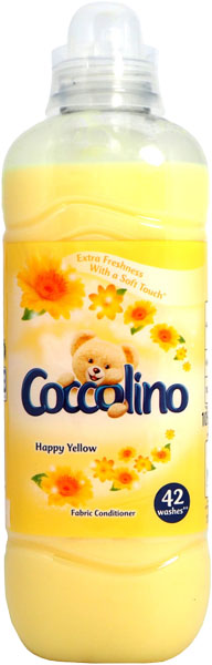 COCCOLINO Happy Yellow 105 l (42 praní) - aviváž