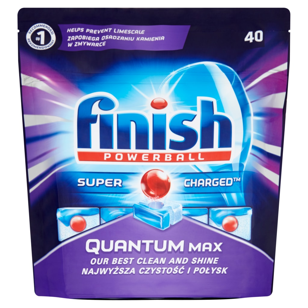 FINISH Quantum Max 60 ks – tablety do myčky