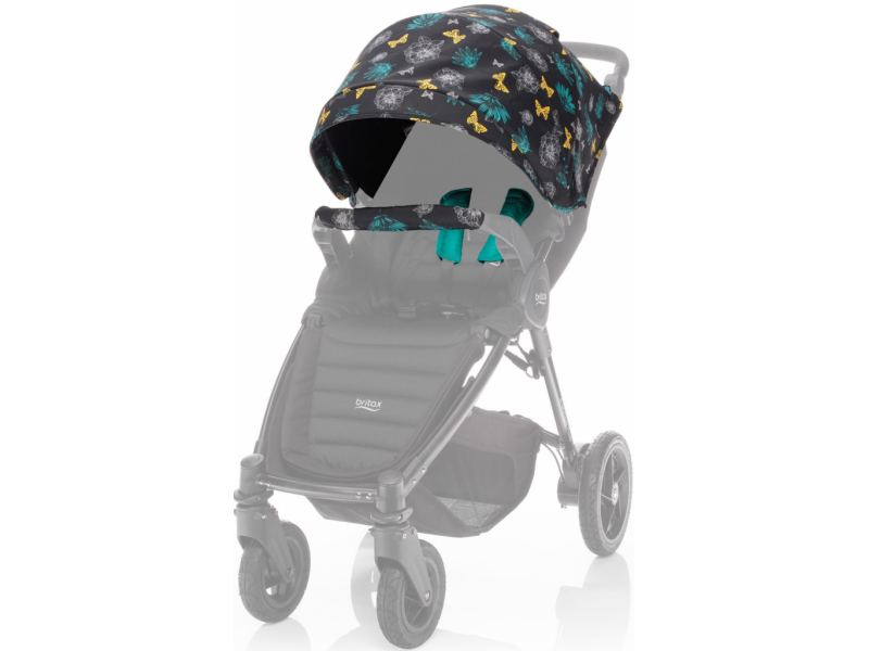 BRITAX RÖMER Barevný set B-Agile 4 PlusB-Motion 34 Plus Limited – Butterfly Flowers 2018