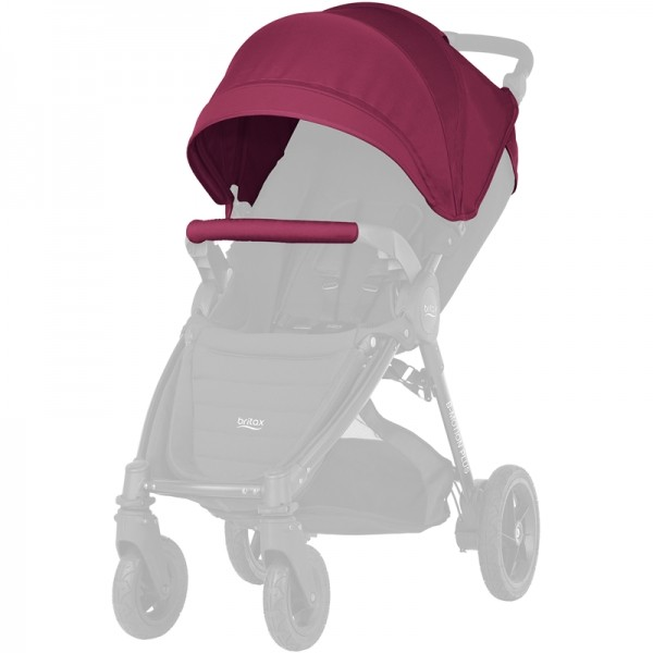 BRITAX RÖMER Barevný set B-Agile 4 PlusB-Motion 34 Plus – Wine Red 2018