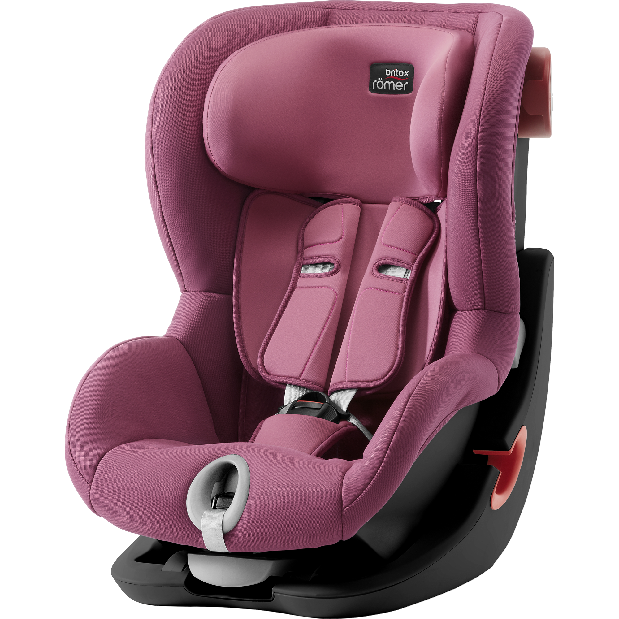 BRITAX RÖMER Autosedačka King II Black (9-18 kg) – Wine Rose 2018