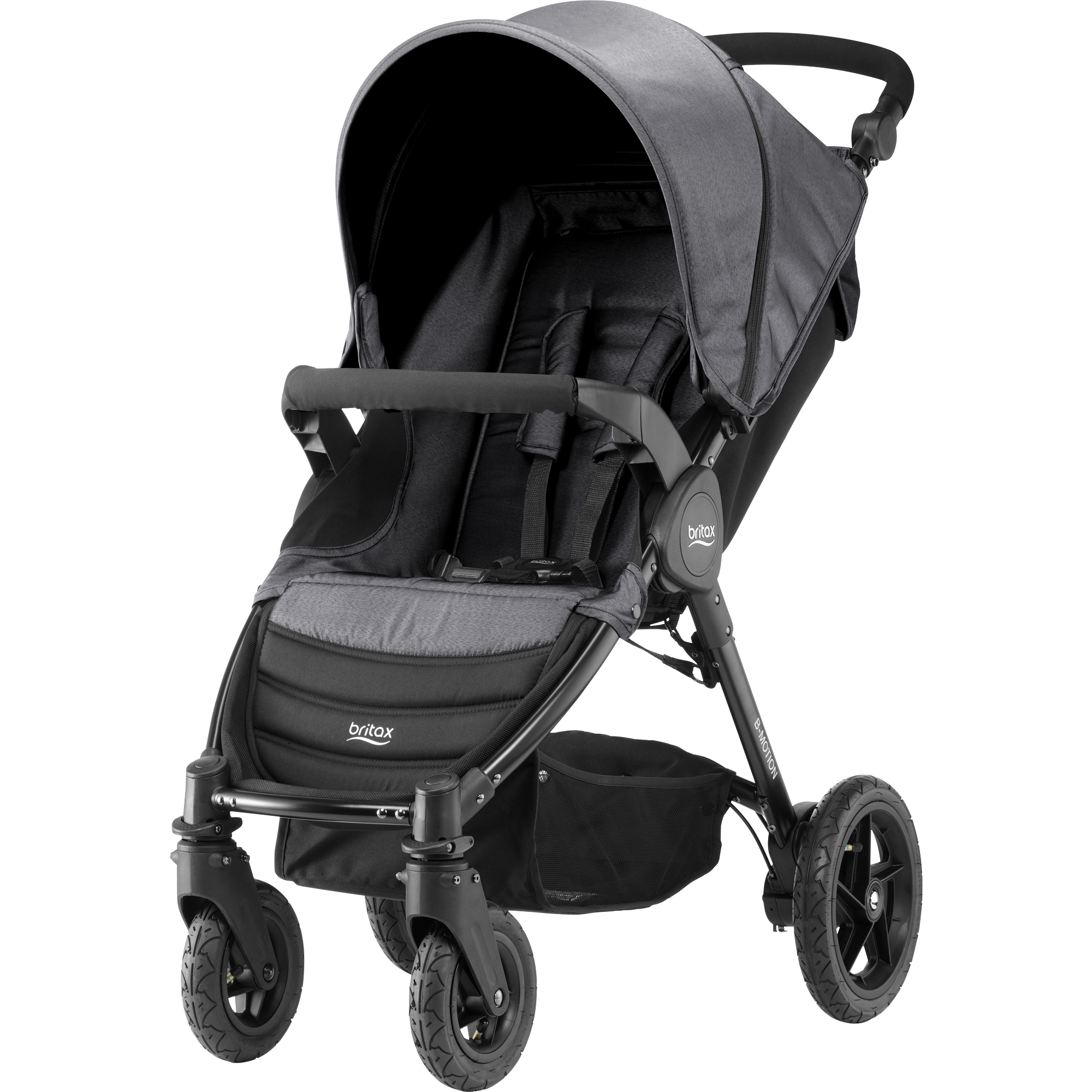 BRITAX Kočárek B-Motion 4 – Black Denim 2018