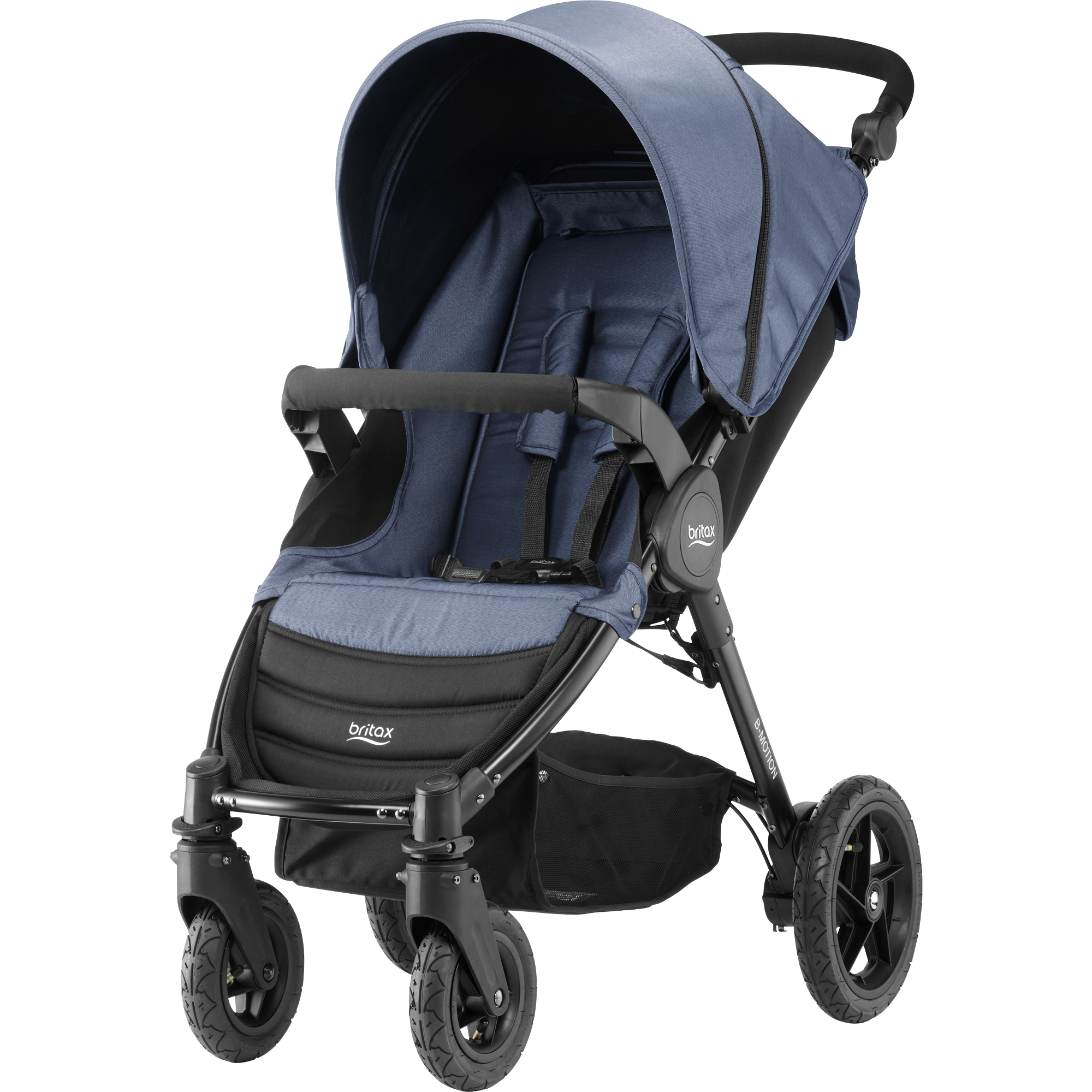 BRITAX Kočárek B-Motion 4 – Blue Denim 2018
