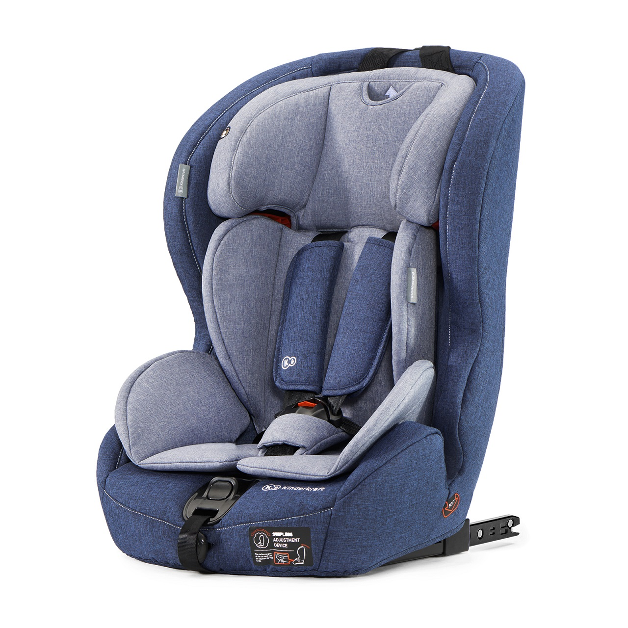 KINDERKRAFT Safety-Fix (9-36 kg) Isofix Autosedačka – Navy