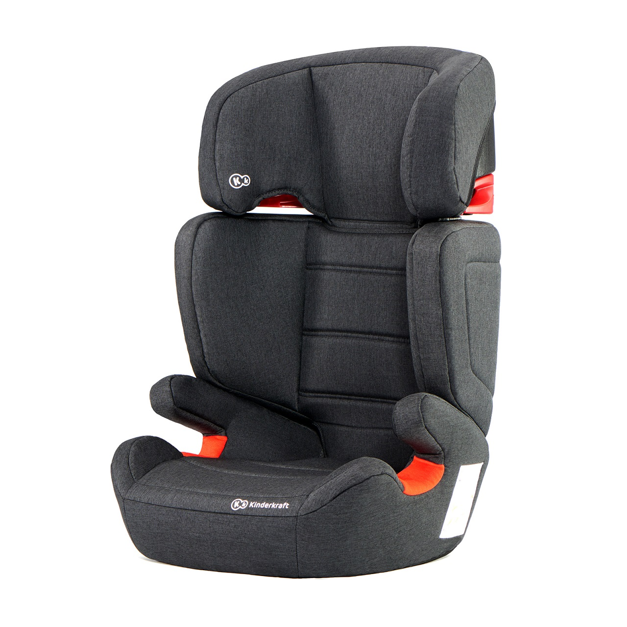 KINDERKRAFT Junior Fix (15-36 kg) Autosedačka – Black