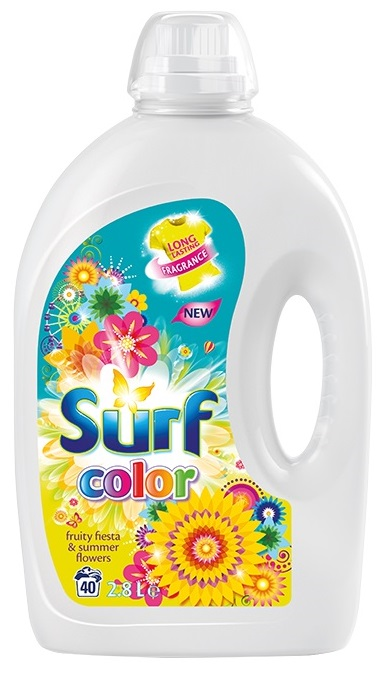 SURF Color Fruity Fiesta 28 l (40 dávek) – prací gel