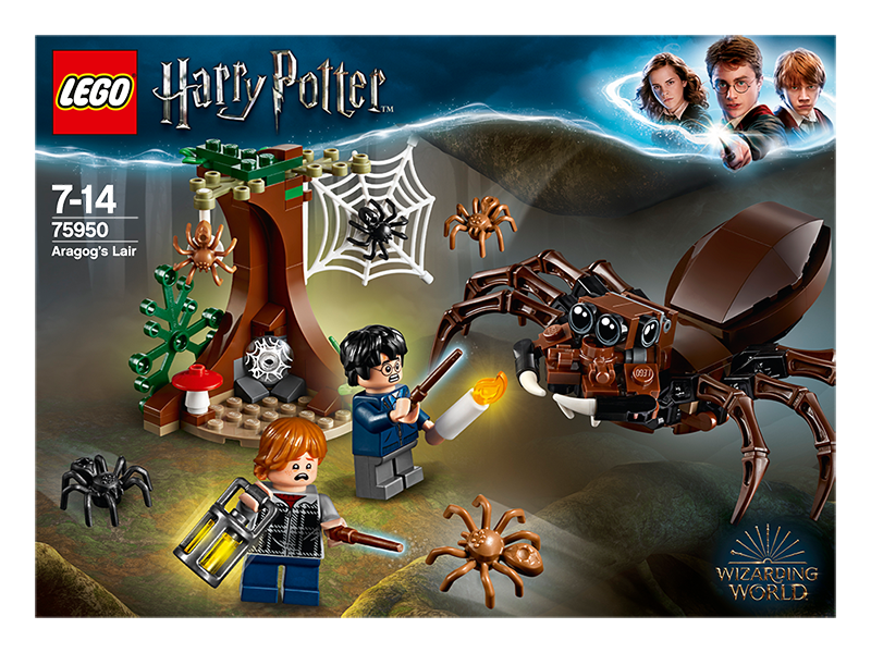 LEGO® Harry Potter Aragogovo doupě