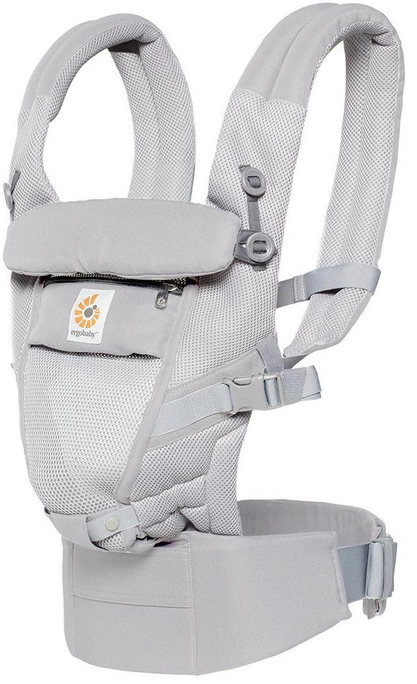 ERGOBABY Nosítko Adapt Cool Air Mesh – Pearl Grey