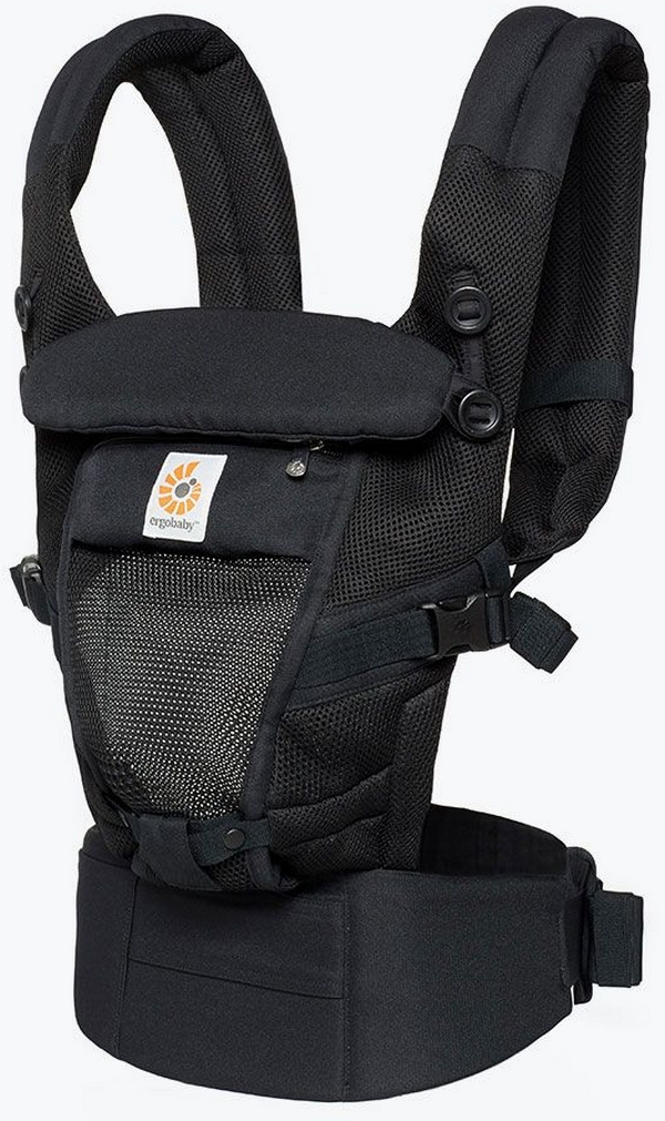 ERGOBABY Nostíko Adapt Cool Air Mesh – Onyx Black