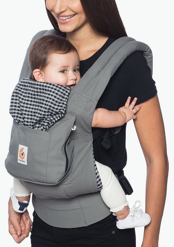 ERGOBABY Nosítko Original – Steel Plaid