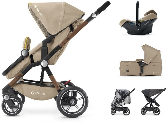 CONCORD Mobility Set Camino Air.SafeScout Powder Beige 2018