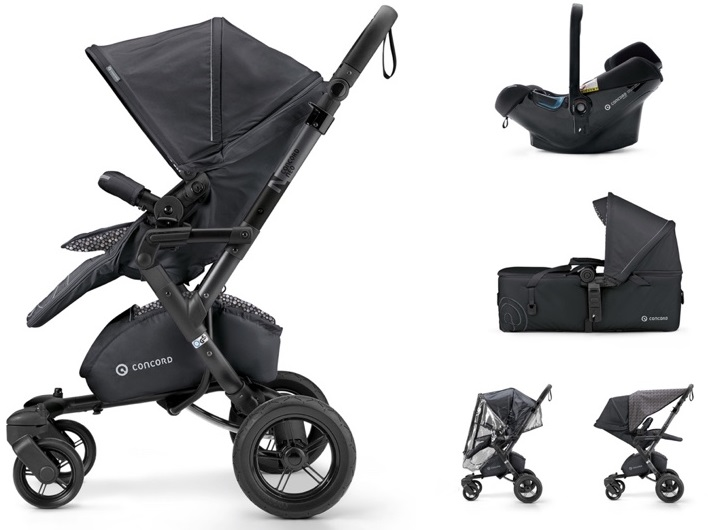 CONCORD Mobility Set Neo, Air.Safe+Scout, Cosmic Black 2018