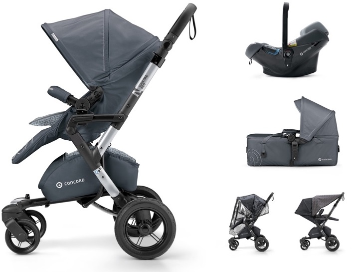 CONCORD Mobility Set Neo Air.SafeScout Steel Grey 2018