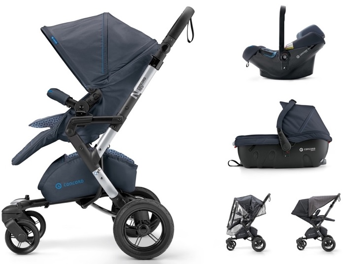 CONCORD Travel Set Neo Air.SafeSleeper Deep Water Blue 2018