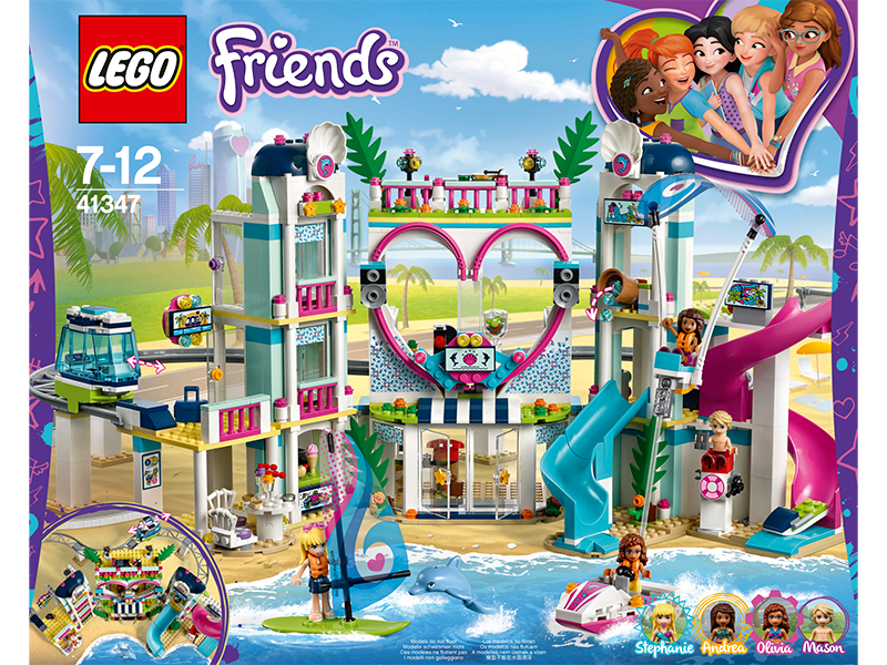 LEGO® Friends Resort v městečku Heartlake