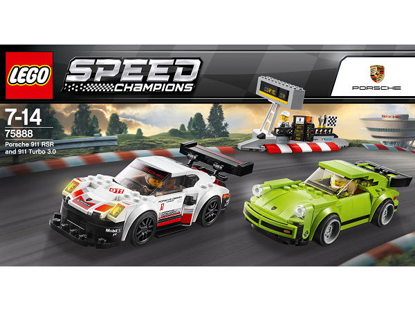 LEGO® SPEED CHAMPIONS 75888 Porsche 911 RSR a 911 Turbo 30