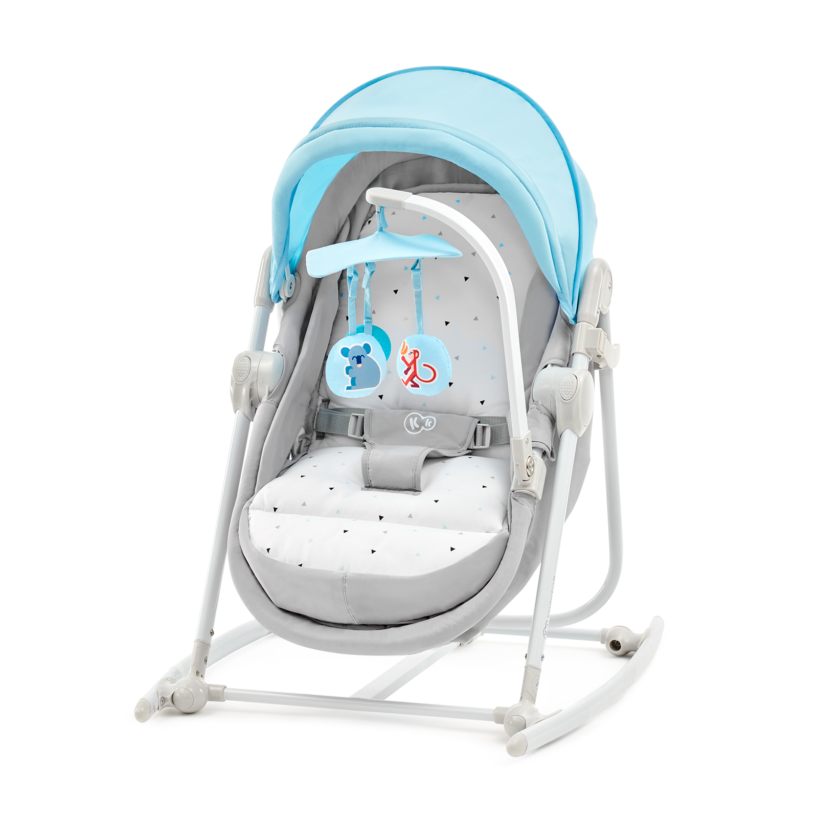 KINDERKRAFT Lehátko 5v1 Unimo – Light blue
