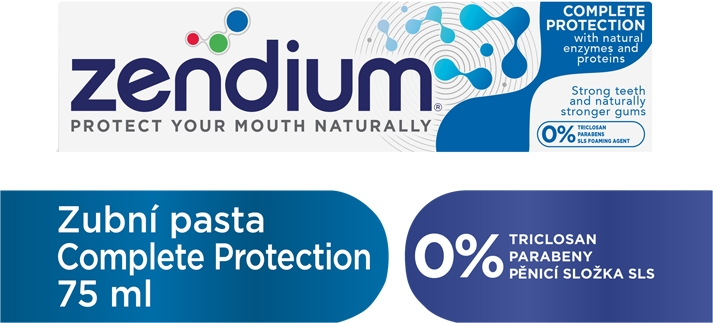 ZENDIUM Zubní pasta Complete Protection 75 ml