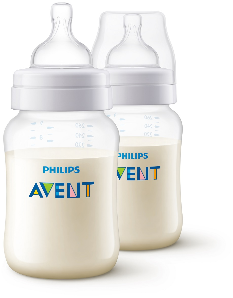Philips AVENT Fľaša 260 ml Antikolik 2 ks