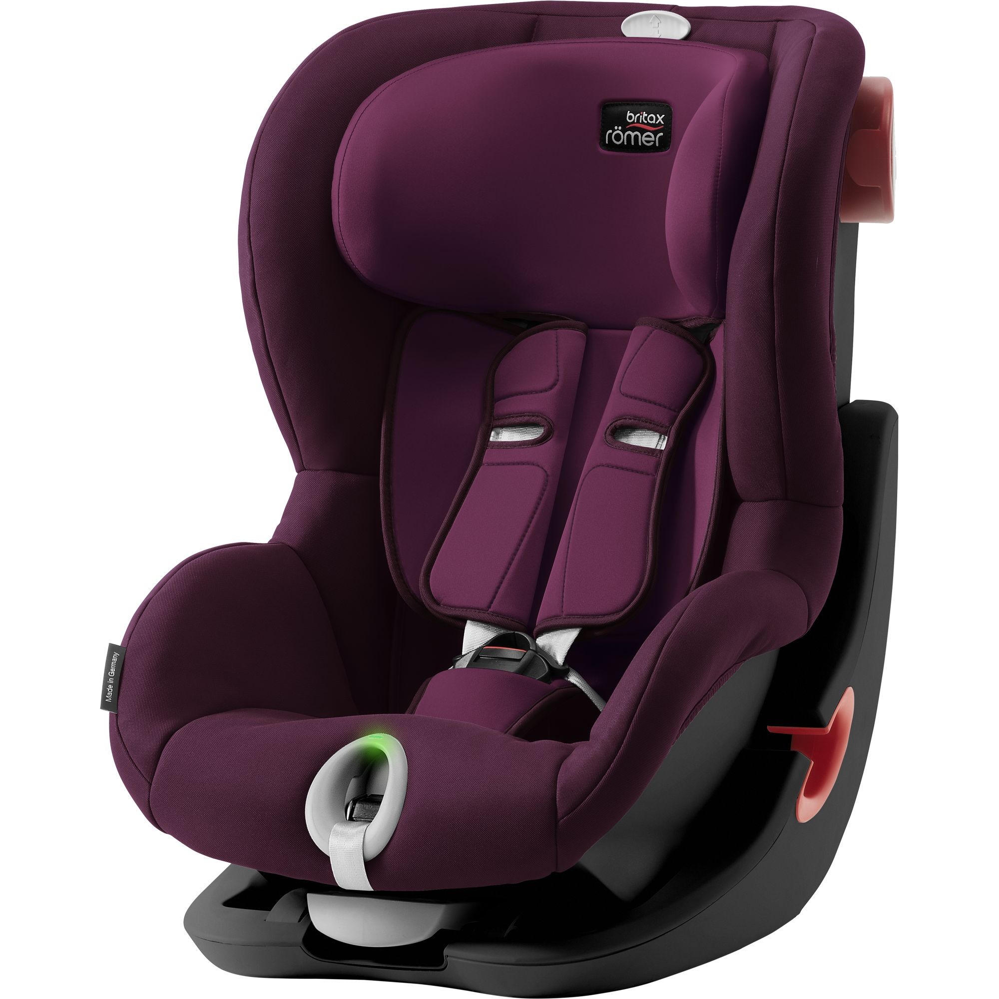 BRITAX RÖMER Autosedačka King II LS (9-18 kg) - BlackBurgundy Red