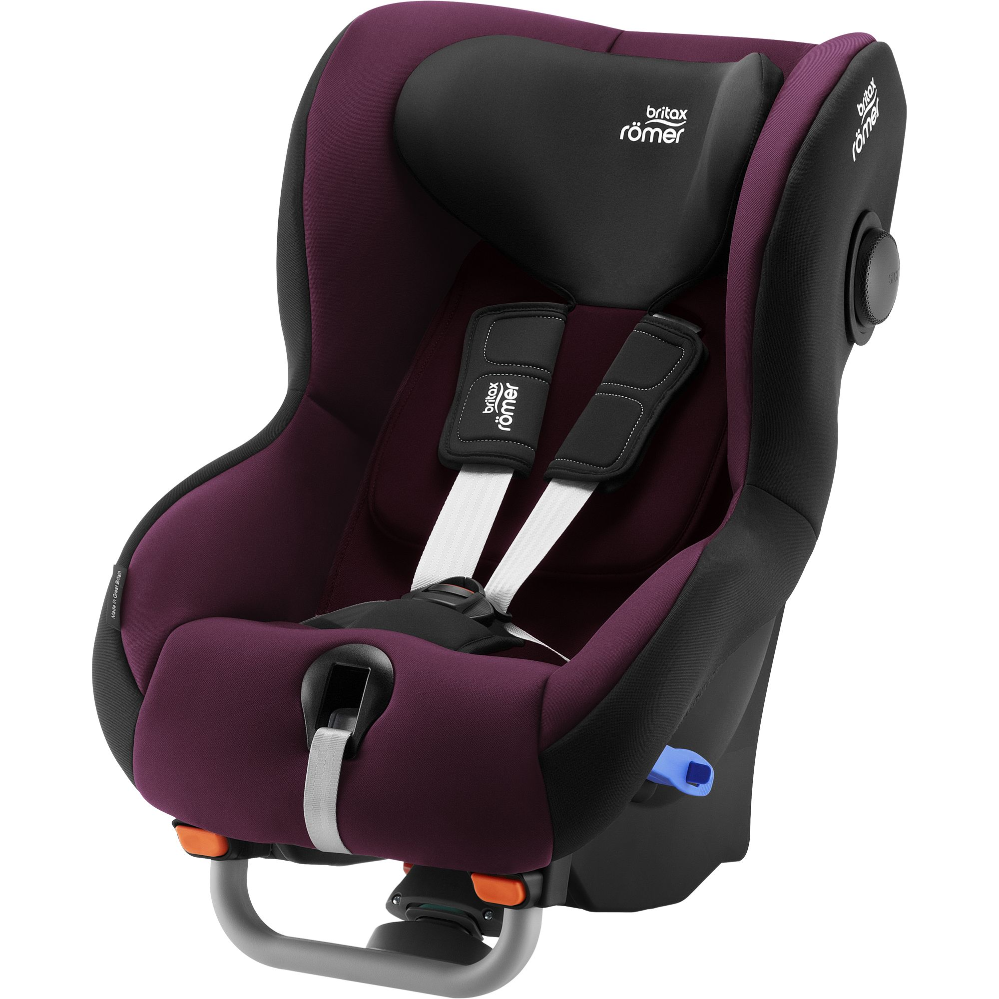 BRITAX RÖMER Autosedačka Max-Way Plus (9-25 kg) Burgundy Red