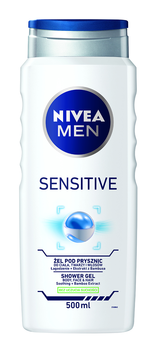 NIVEA MEN Sprchový gel Sensitive 500 ml