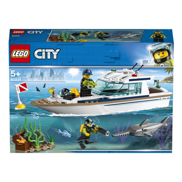 LEGO® City Great Vehicles 60221 Potápačská jachta