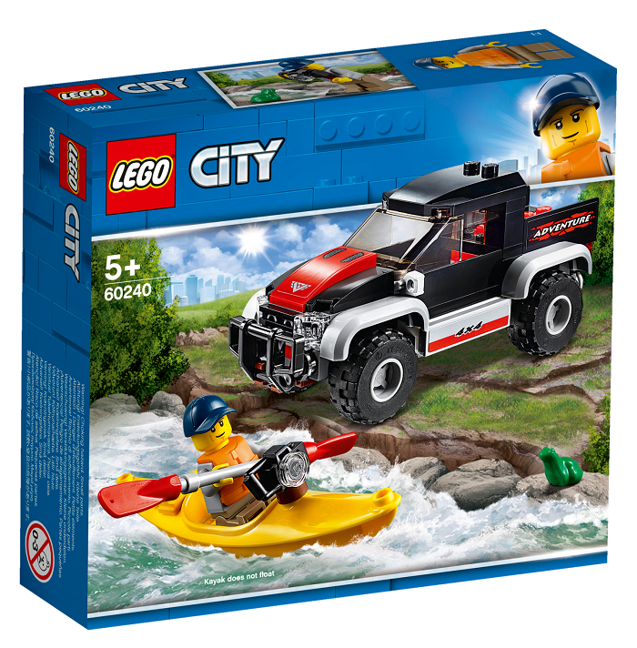 LEGO® City Great Vehicles 60240 Dobrodružství na kajaku
