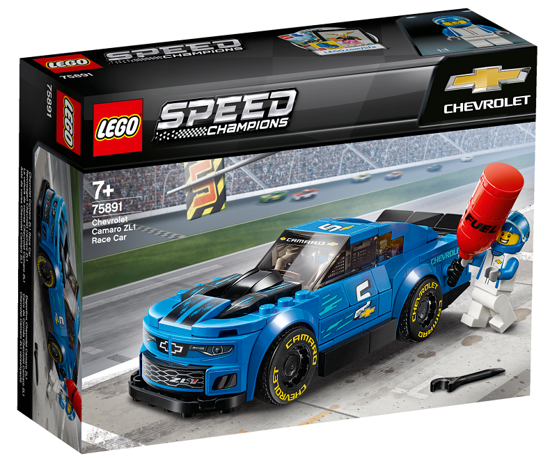 LEGO® Speed Champions 75891 Chevrolet Camaro ZL1 Race Car