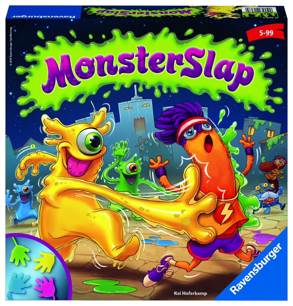 RAVENSBURGER Monster Slap hra