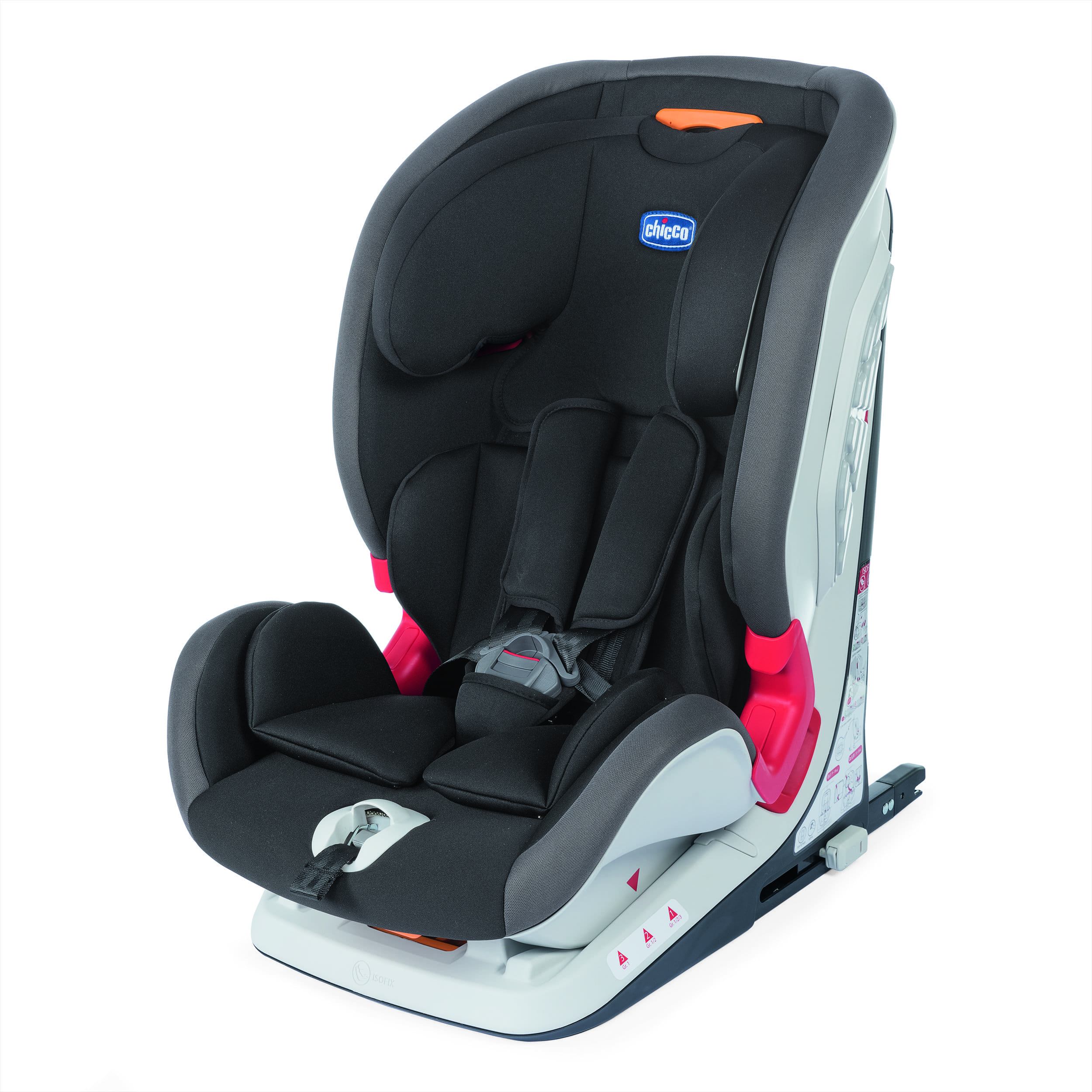CHICCO Autosedačka Youniverse Fix (9-36 kg) - Jet Black
