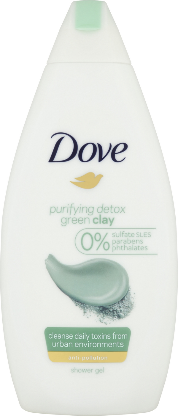 DOVE Purifying Detox Sprchový gel 500 ml