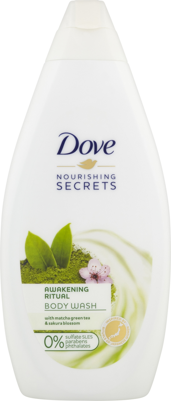 DOVE Matcha Tea & Sakura Blossom Sprchový gel 500 ml