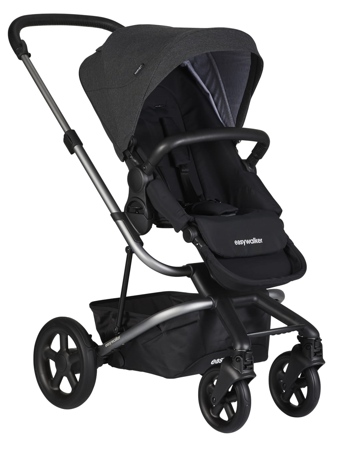 EASYWALKER Kočárek sportovní Harvey2 Night Black (Platinum Edition) Easywalker