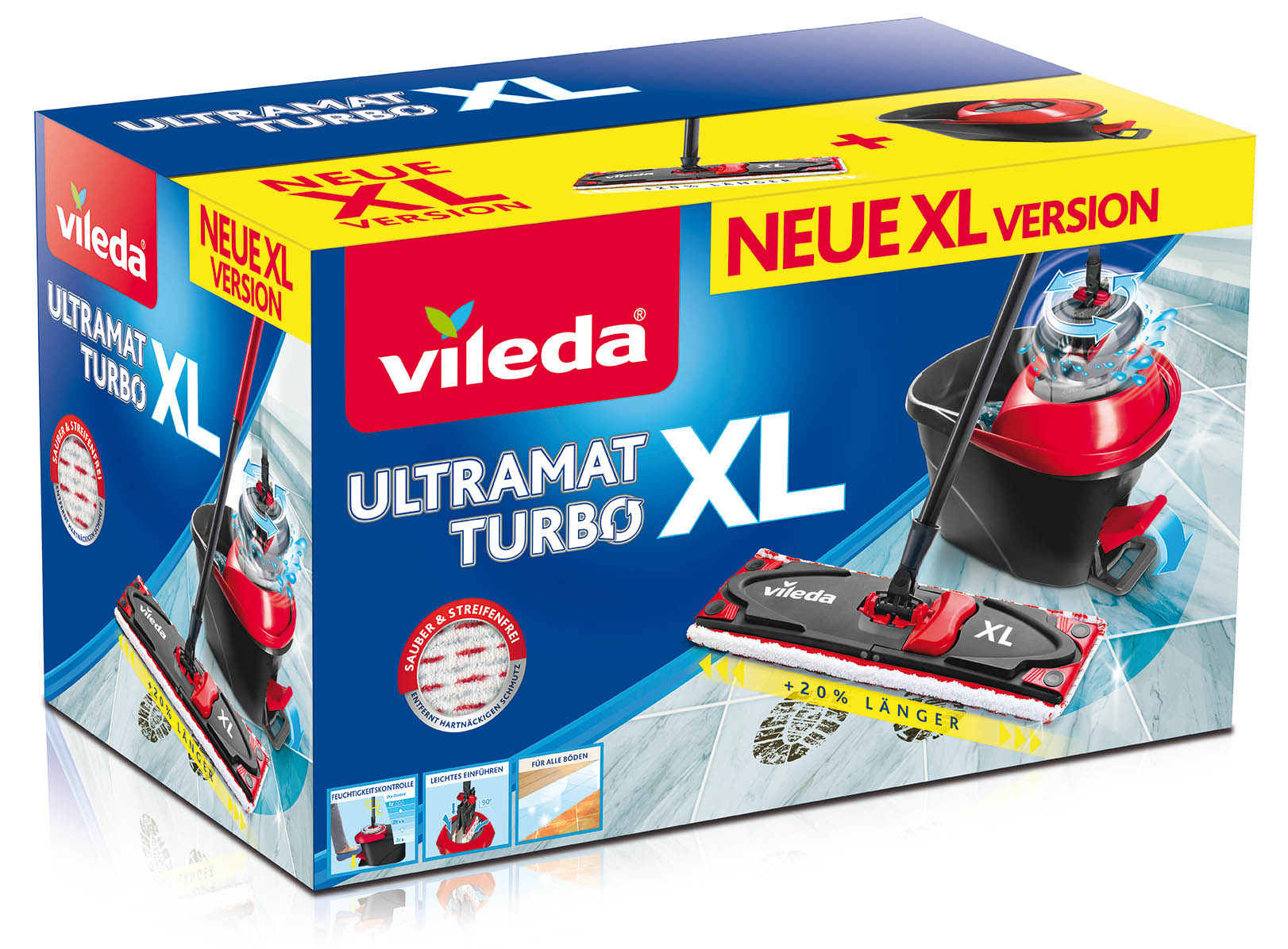 VILEDA Ultramat mop Turbo XL