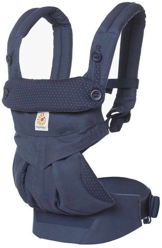 ERGOBABY 360 Nosítko – Navy Mini Dots