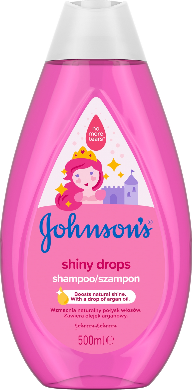 JOHNSONS BABY Shiny Drops šampon 500 ml