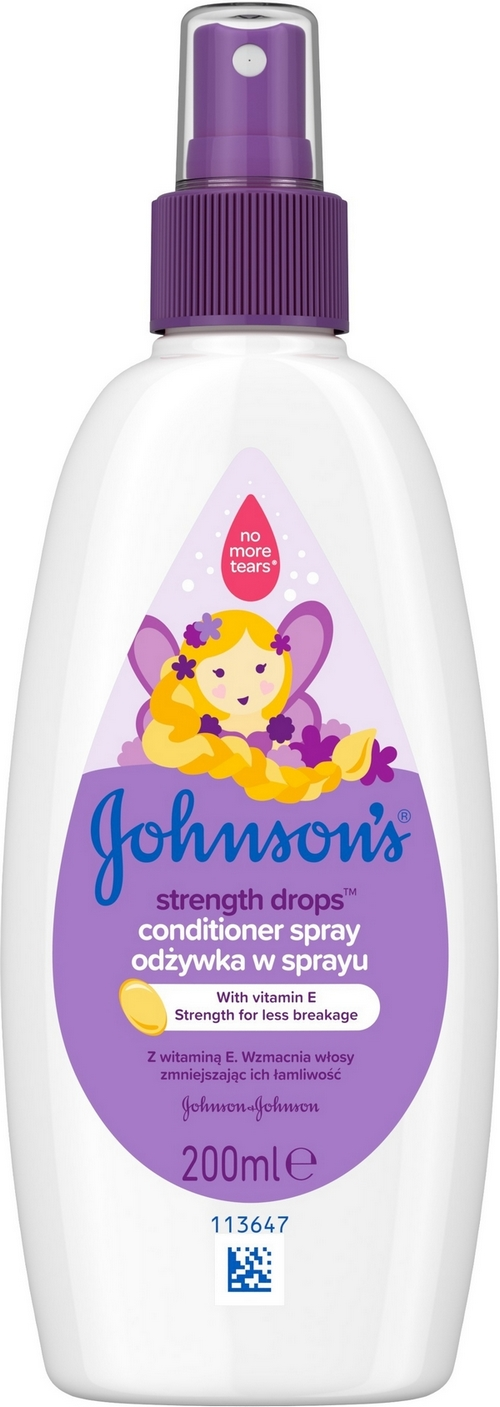JOHNSONS BABY Strength Drops posilující kondicionér ve spreji 200 ml