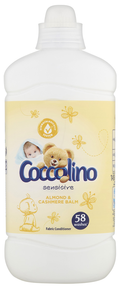 COCCOLINO Sensitive Cashmere & Almond (58 dávek) 145l – aviváž