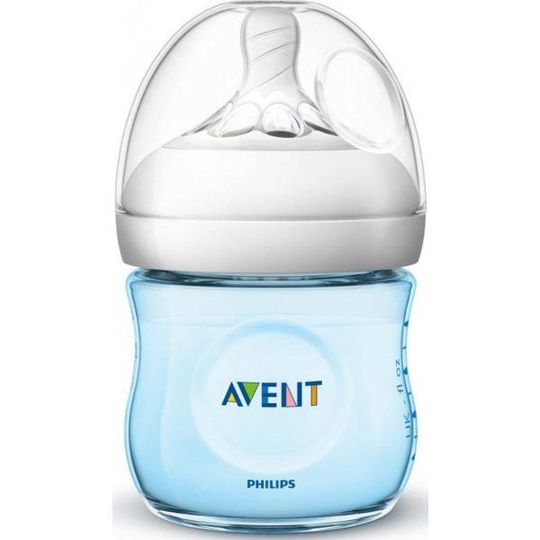 Philips AVENT Fľaša Natural 125 ml modrá