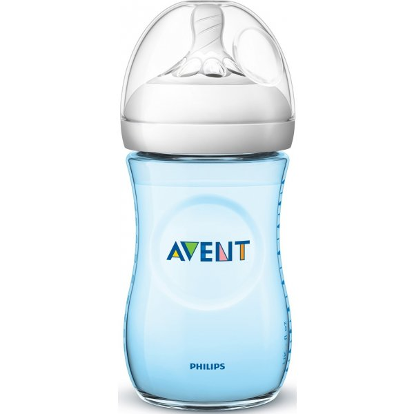 Philips AVENT Láhev Natural 260 ml modrá