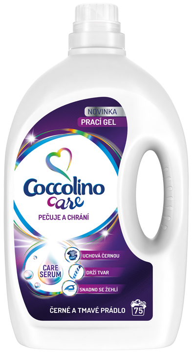 COCCOLINO Care Black 3l (75 dávek) – prací gel